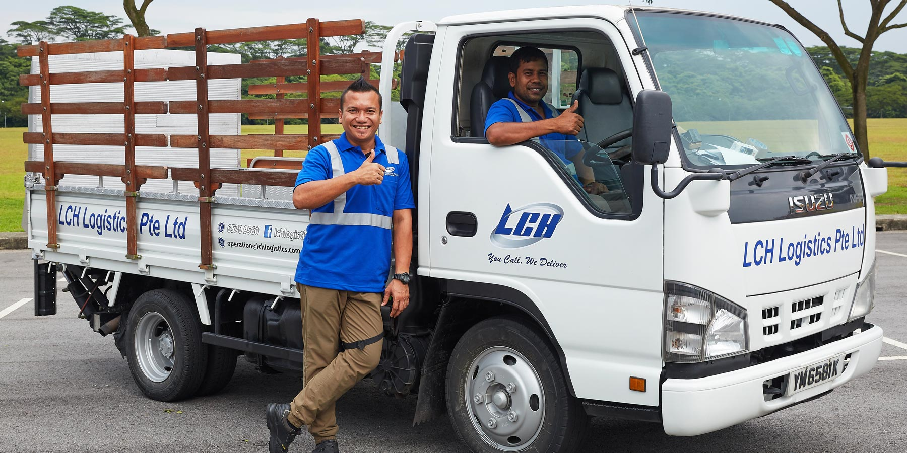 Our fleet is always ready for your moving needs, reliable house mover.